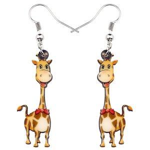 Giraffe Acrylic Earrings